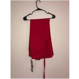 NWT Greys Anatomy Scarlet Red Scrubs Pants
